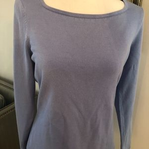 Talbots Silk combo Boatneck Sweater So Soft!